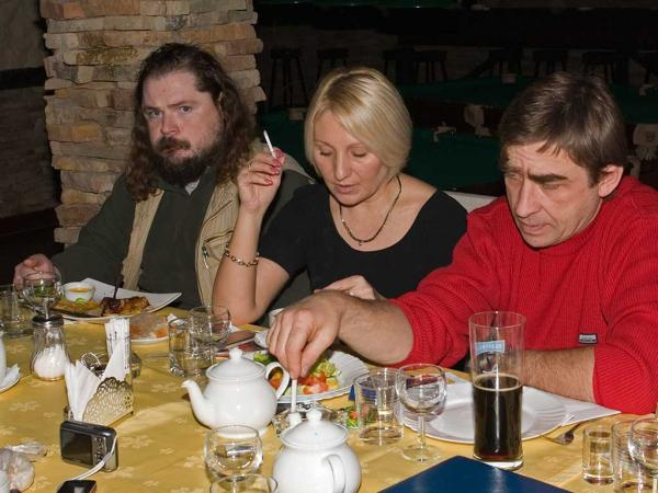 Константин Островский, Анжела Воробьева и Анатолий Жуковин