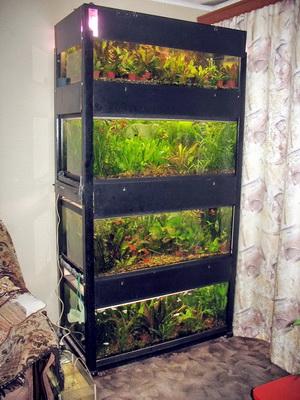 Подставки для аквариумов своими руками