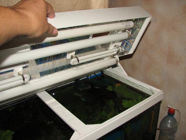 Аквариумная крышка из пластика своими руками