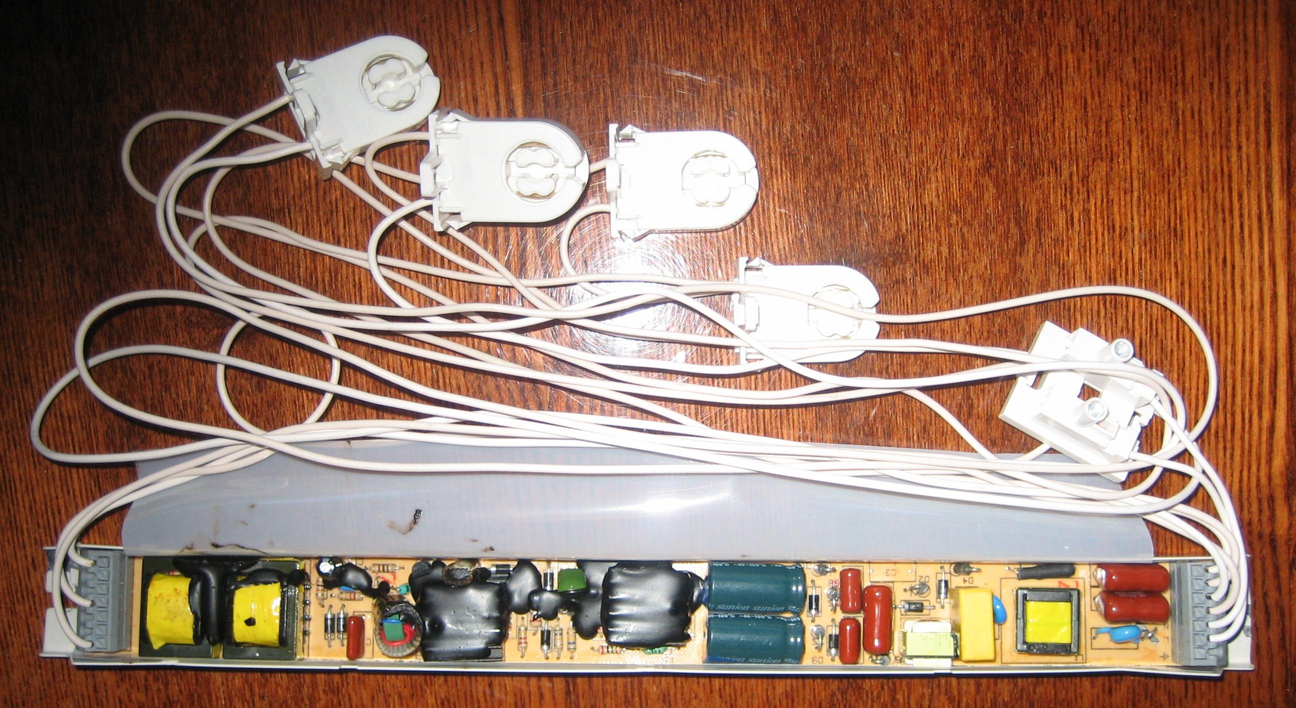 Лампа с электронным балластом своими руками 221